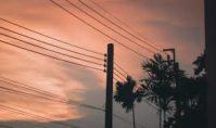 Натяжение проводов воздушной линии электропередач